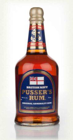 Pusser's Admiral rum